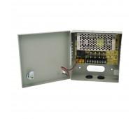 Блок питания металл Ящик  110-220V±15%, Output: DC 12V  5A, 165x165x5   4 канала S-60-12