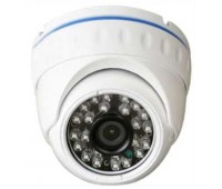 DB20-MHD200H, 4 IN 1(AHD,Analog ,TVI,CVI) Купольная, Металл, 2.1 MP 1080P, 3,6mm линза, IR-20m