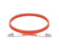 Patch Cord LC/UPC - LC/UPC MM OM2 Duplex 5m