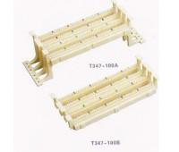 Кросс панель стандарта 110, 100 пар, T347-100B, SHIP