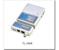 Сетевой Тестер для RJ-45/UTP-STP, RJ-11, USB, BNC cables TL-2468