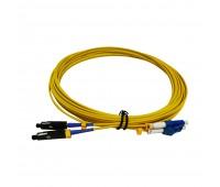 Patch Cord MU/UPC - LC/UPC SM 9/125 Duplex 25m