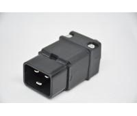 Вилка разборная прямая IEC320-C20 16A 250V Съемный разъём