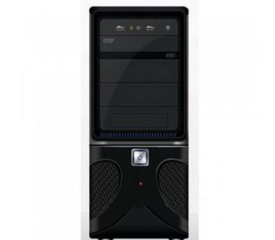 ATX Midi Tower SCS-QH-808 (Black) USB,Audio front panel Без Б.П. СОБРАННЫЙ + Air Pack