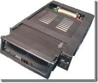 Mobile Rack IDE DMA 66/100/133, 2 Fan, 80pin/Keylock, internal (black)