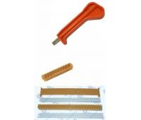 Инструмент забивочный impact punch down tool для модулей 10, 25 пар