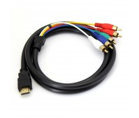 HDMI m - RCA+Audio 1.5m  1 фильтр