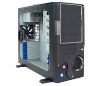 ATX For Server SP 7001, M701, M701CA , прозрачная крышка-поцарапан, без Б. П.,+USB,Audio front panel