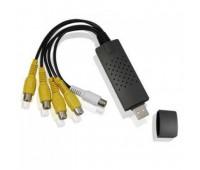 4-х канальный USB 2.0 DVR Видеорегистратор, Video*4, Audio*1, PAL, MPEG4