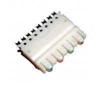 Крепеж для кабеля на patch panel стандарта 110, 8 контактов, T346-4, SHIP