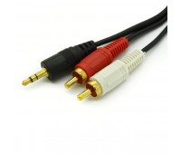 Jack to RCA Stereo Cable 2m