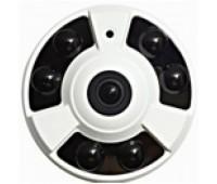 FP30A-400V IP Camera, Панорамная, Рыбий-глаз, Металл, 2 MP 1080P, 1,44mm линза, IR-20m