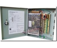 Блок питания металл Ящик, 110-220V±15%, Output: DC 12V 10A, 205x235x55 9 каналов S-120-12