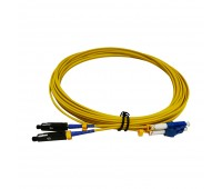Patch Cord MU/UPC - LC/UPC SM 9/125 Duplex 15m