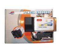 PCMCIA Cardbus 2*USB 2.0 (480Mbps)+1394 Firewire Combo (6pin+4pin)