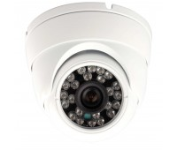 4 IN 1(AHD,Analog ,TVI,CVI) Купольная камера 1.0 MP CMOS 8901+H42 TS-DID720AHD-H