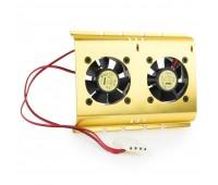 Fan for HDD Вентилятор для жесткого диска (2 fan 5x5 cm.)