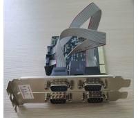 PCI card to RS232 (COM) x 4port Chip MCS9865+CD