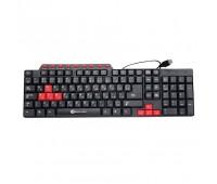 Keyboard USB rus/lat/kaz 104key 1,5m KB-102XE