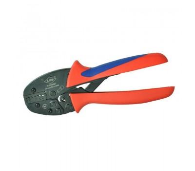 Инструмент обжимной, Профиль опрессовки: квадратный,  Диапазон сечений, 0.5-4мм2 (20-12 AWG)
