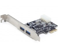PCI-Express card to USB 3.0 5Gbps 2 ports NEC D720200 Power Molex