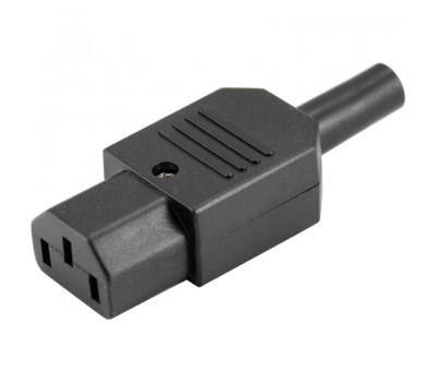 Съемный разъем IEC320-C13 10A 250V