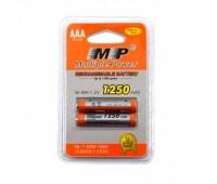 Аккумулятор MP AAA(R3) 1250 mAh , 1.2V, Ni-MH комплект 2 шт.